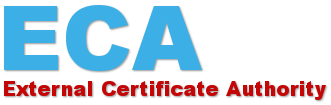 ECA-External Certificate Authority